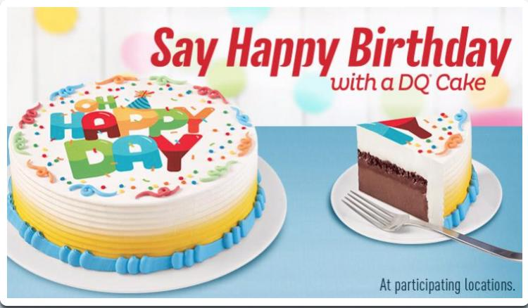 Dairy Queen Rocky River 3 00 Off Any 8 Inch Dq Or Blizzard Cake Or 4 00 Off Any 10 Inch Dq Or Blizzard Cake