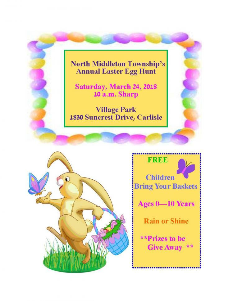 North Middleton Township Easter Egg Hunt