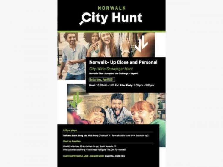 Norwalk Now City Hunt