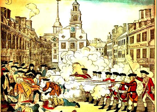 Anniversary of the Boston Massacre