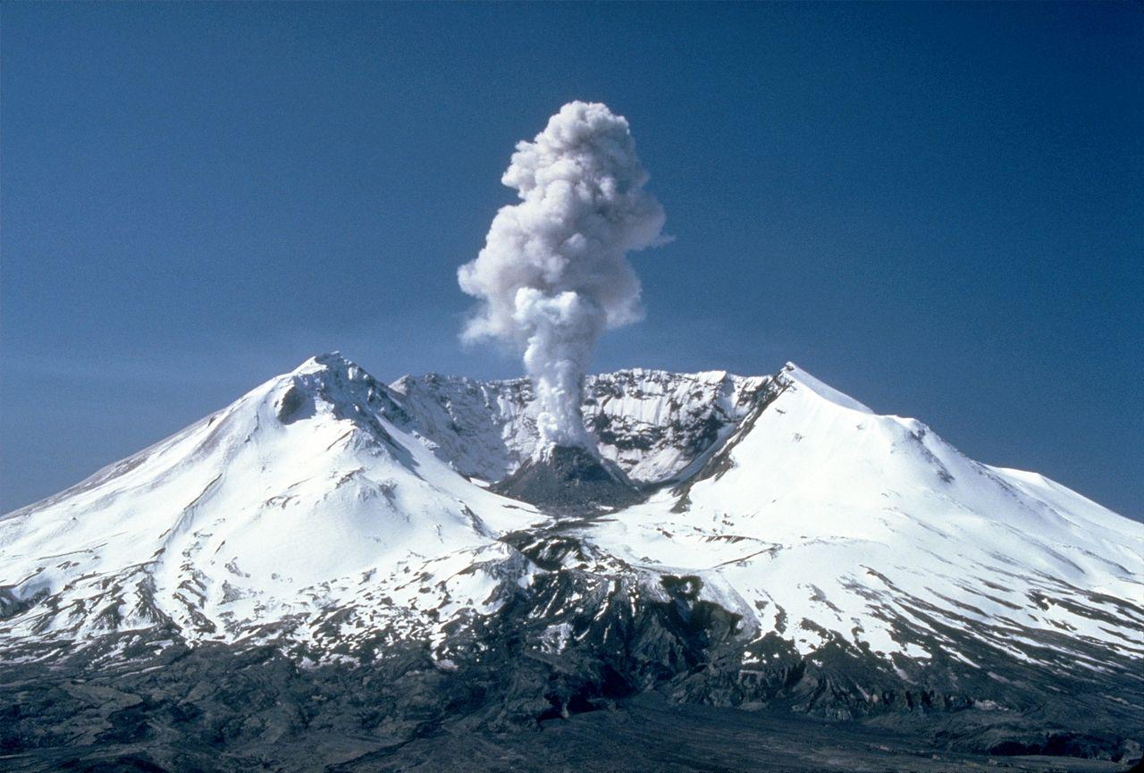 Mount Saint Helen Eruption