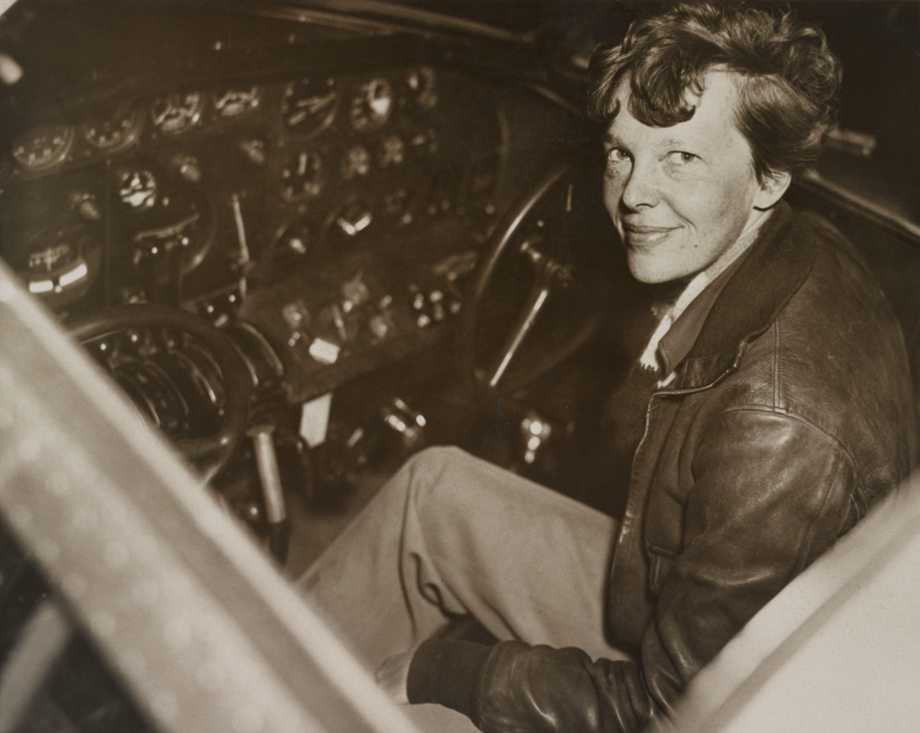 Amelia Earhart Atlantic Crossing