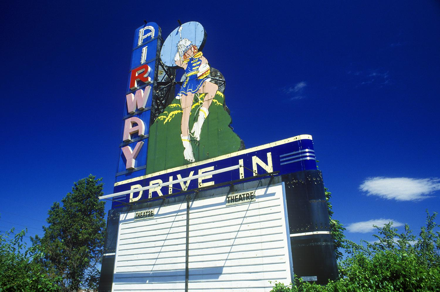 First Drive-In Movie Opens