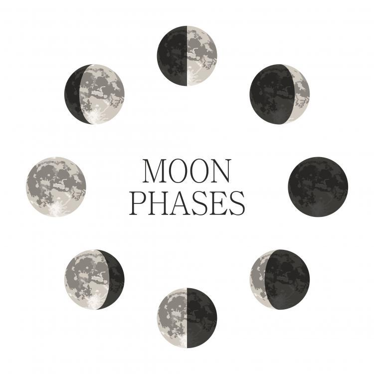 Moon Phase:  Full Moon/Wolf Moon