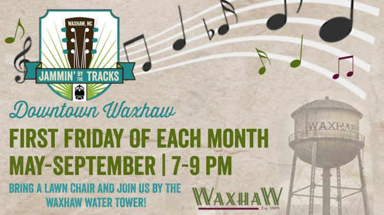 Jammin' by the Tracks Concert Series