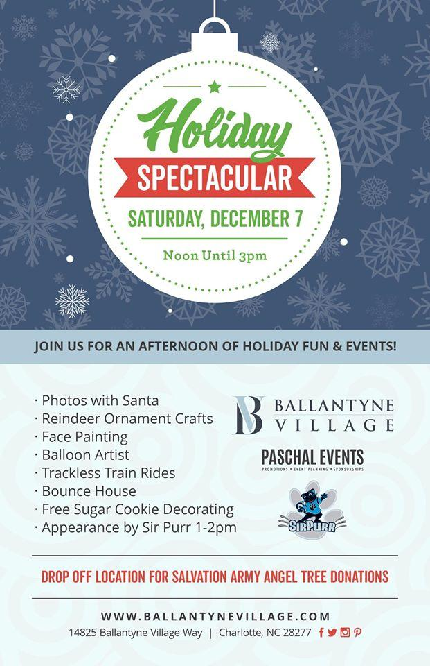 Holiday Spectacular at Ballantyne Village