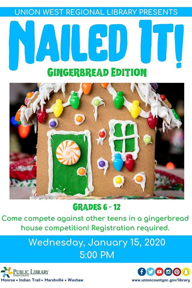 Nailed It! Gingerbread Edition