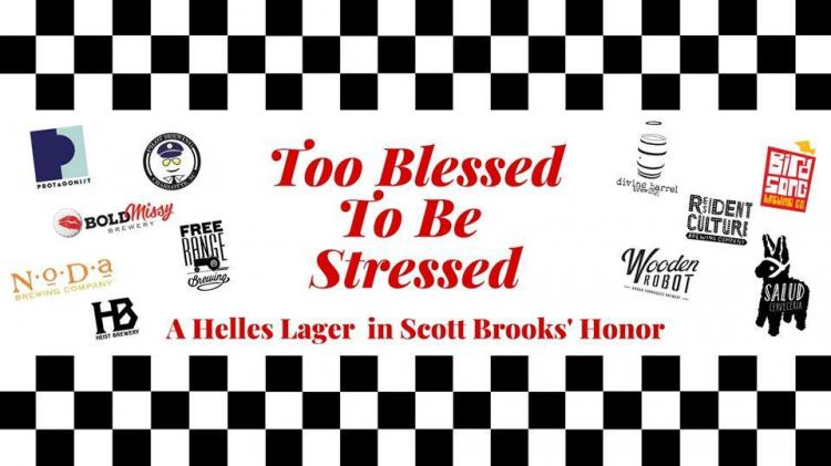 Too Blessed to be Stressed Release in honor of Scott Brooks