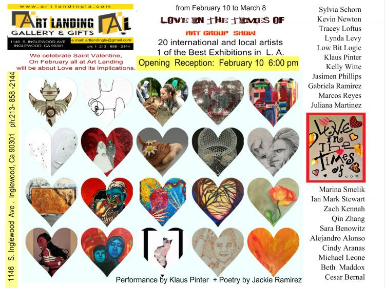 """"""" Love In The Times Of …"""" Art Group Show"""