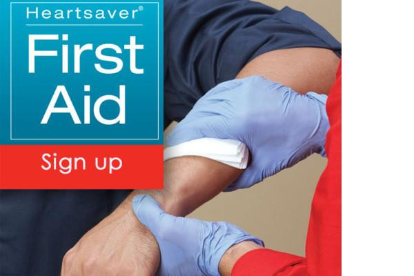 FIRST AID & CPR - Oct 8 & 10