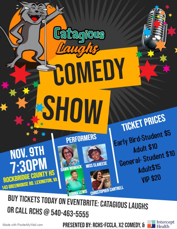 Catagious Laughs Comedy Show