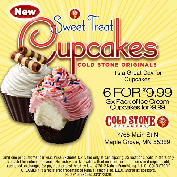 Cold Stone Creamery - Order Online or Call at Store -Curbside Pick Up & Take Ou