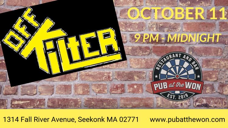 LIVE MUSIC! Off Kilter @ Pub at the Won