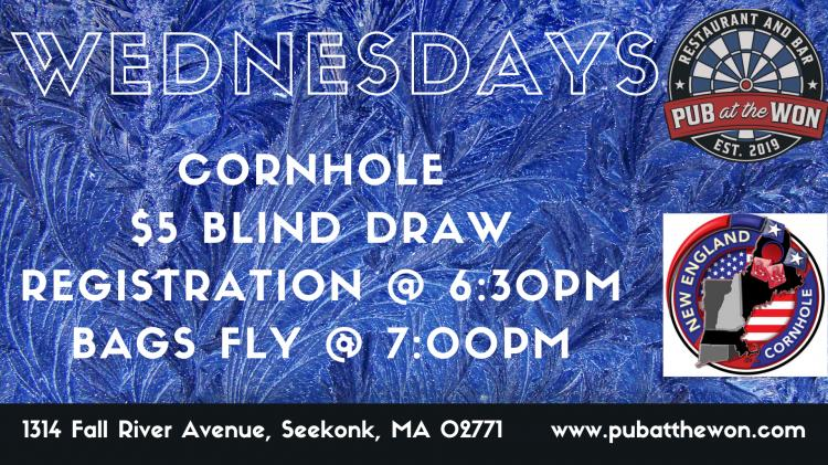 Cornhole $5 Blind Draw @ Pub at the Won