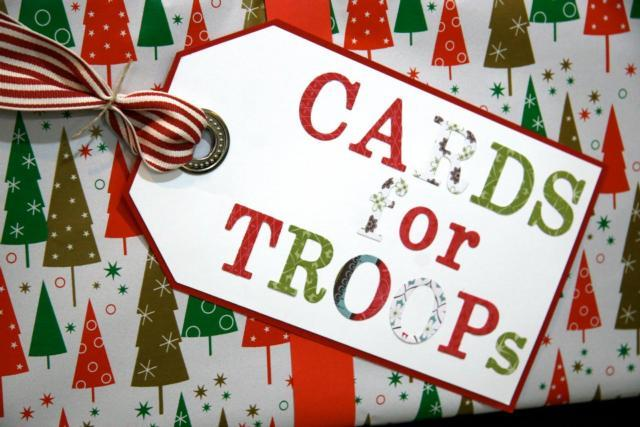 Christmas Cards for Camp Atterbury USO