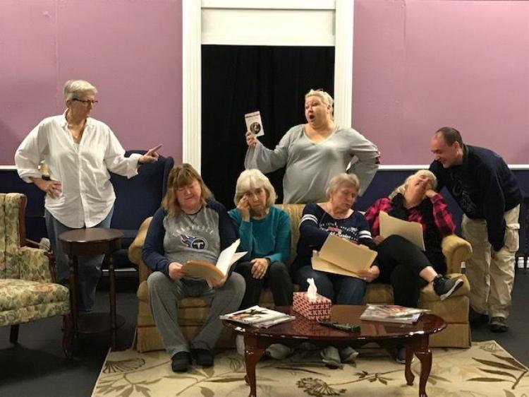 Encore Theatre Company - Four Old Broads by Leslie Kimball
