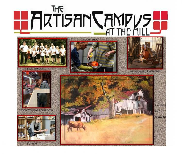 The Artisan Campus at the Mill - Watercolor Painting Workshop