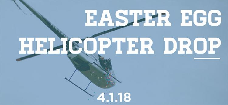 Easter Egg Helicopter Drop