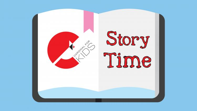 Cardinal for Kids Story Time