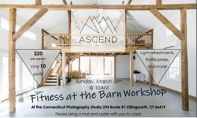 Fitness at the Barn Workshop