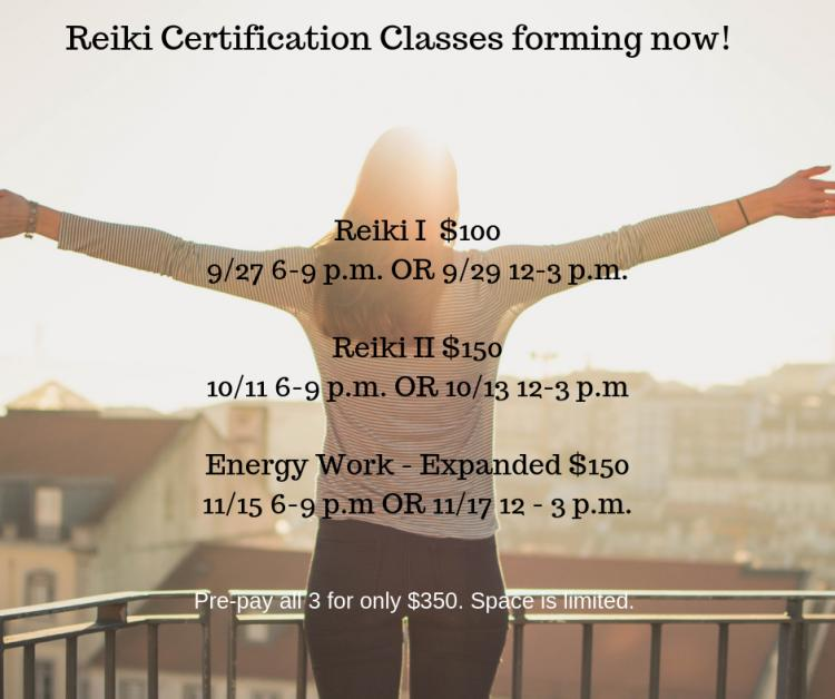 Reiki II Certification - Option 2