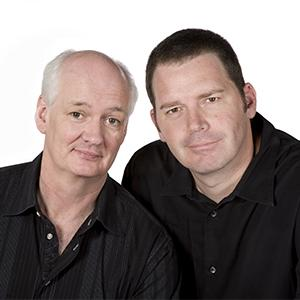 Colin Mochrie and Brad Sherwood Scared Scriptless