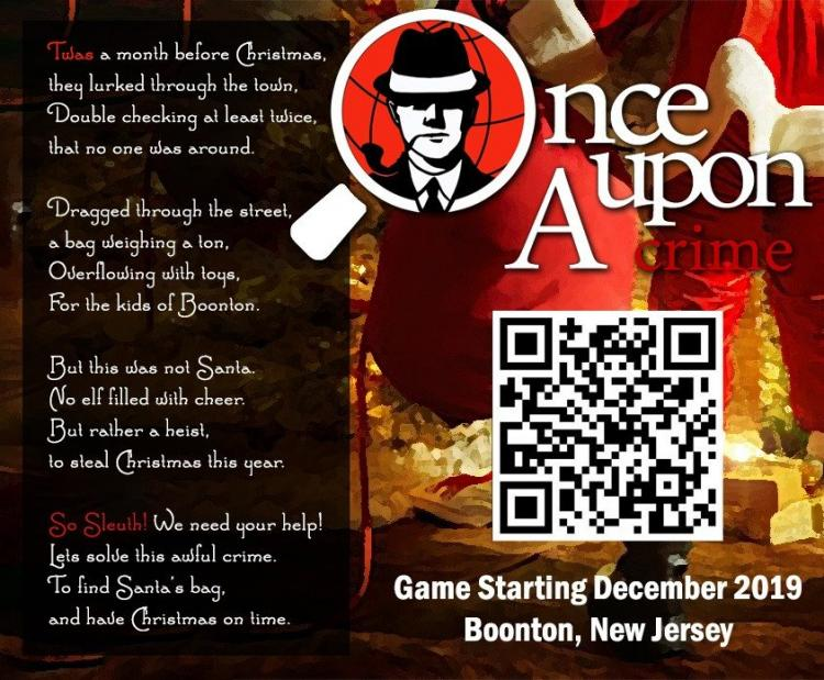 The Case of the Boonton Christmas Heist!