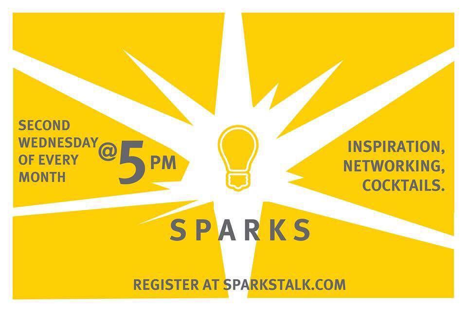 Sparks:  Mingle - Be Inspired - Share!