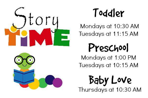 Preschool Storytime at Westfield Library