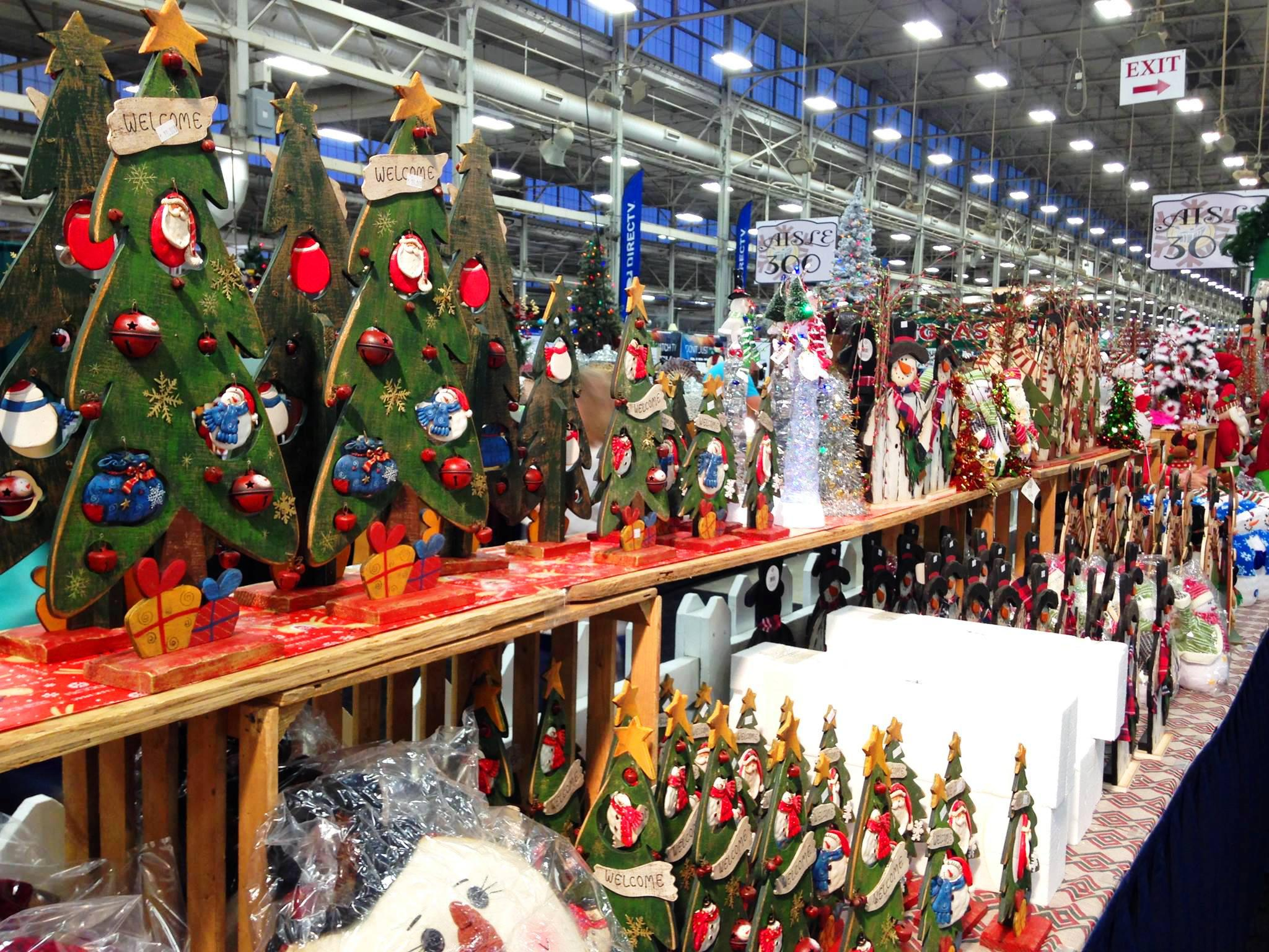 Christmas Gift & Hobby Show at Indiana State Fairgrounds