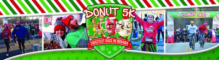 Donut 5K Holiday Run/Walk in Carmel