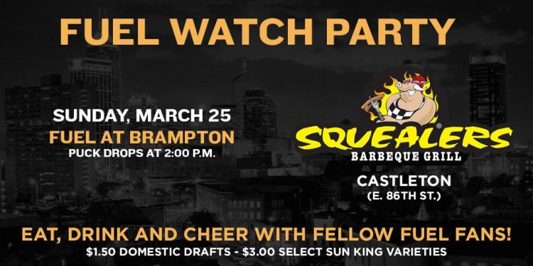 Indy Fuel Watch Party at Squealers in Castleton