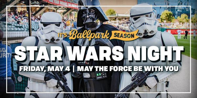 Indianapolis Indians vs Gwinnett Stripers - Star Wars Night & Friday Fireworks