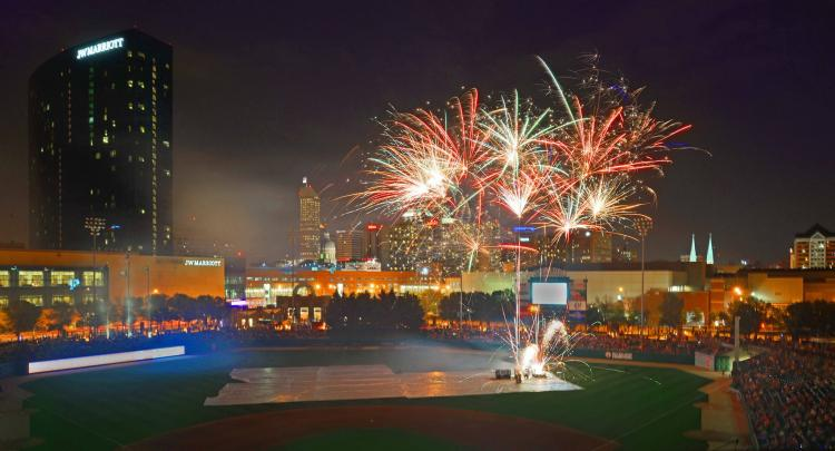 Indianapolis Indians vs Durham Bulls - Friday Fireworks!