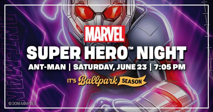 Indianapolis Indians vs Durham Bulls - MARVEL Super Hero Night - Ant-Man!