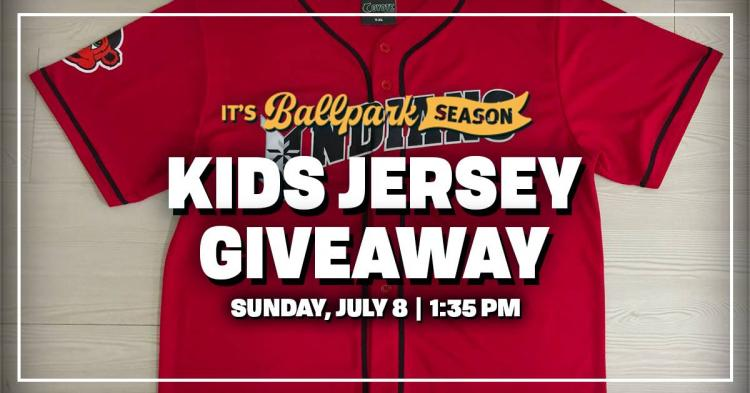 Indianapolis Indians vs Columbus Clippers - Kids Jersey Giveaway!