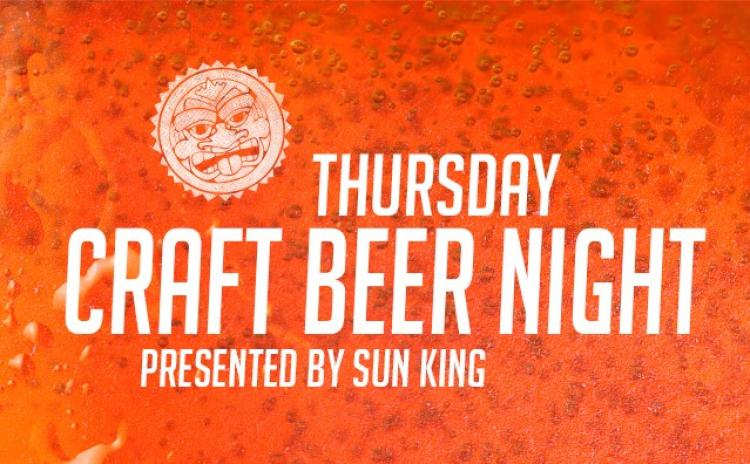 Indianapolis Indians vs Toledo Mud Hens - Thursday Craft Beer Night