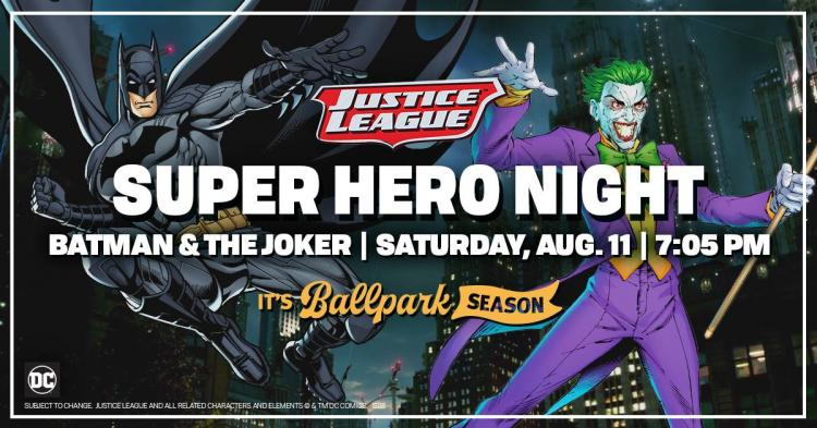 Indianapolis Indians vs Pawtucket Red Sox - DC Comic Super Hero Night