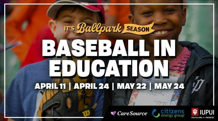 Indianapolis Indians vs Toledo Mud Hens - Baseball in Education