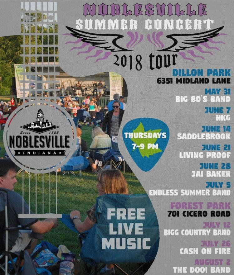 Summer Concerts at Forest Park in Noblesville