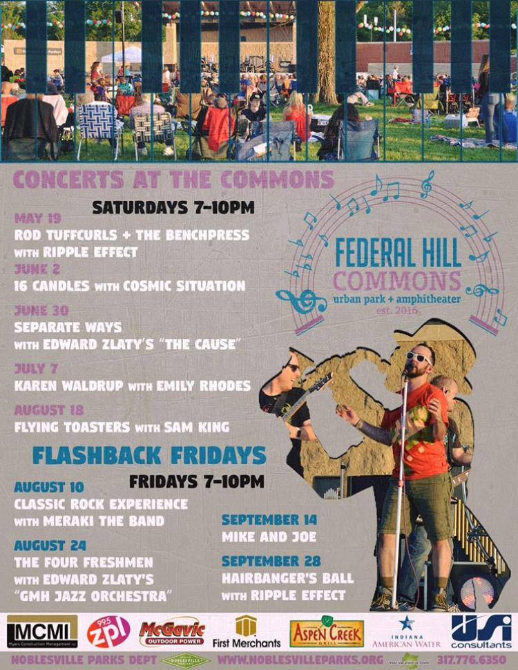 Flashback Fridays at Federal Hill Commons - Noblesville