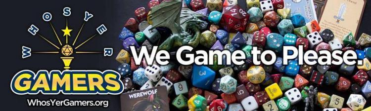Open Game Day with Who's Yer Gamers at Fishers Library