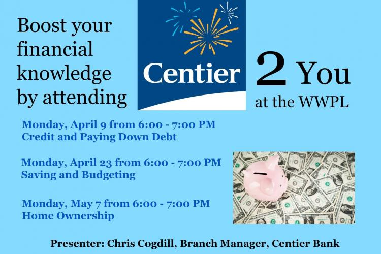 Financial Seminars at Westfield Library