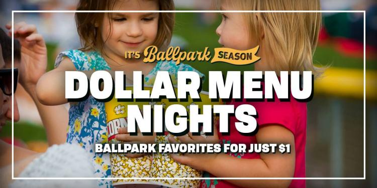 Indianapolis Indians vs Columbus Clippers - Dollar Menu Night