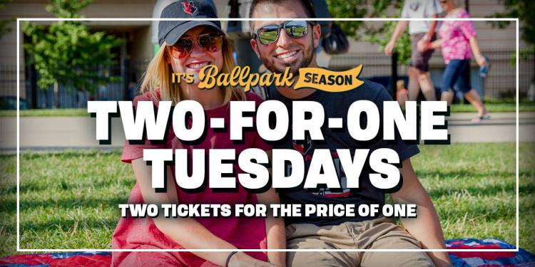Indianapolis Indians vs Columbus Clippers - Two For One Tuesday