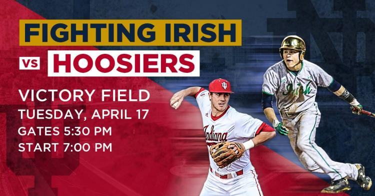 University of Notre Dame vs. Indiana University at Victory Field