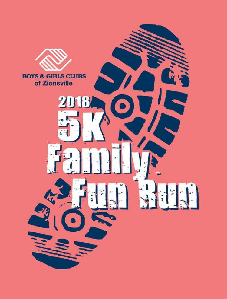 5K Family Fun Run & Health Fair hosted by Boys & Girls Club of Zionsville