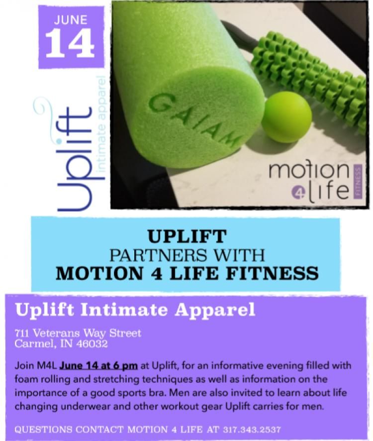 Uplift & Motion 4 Life Fitness Event!