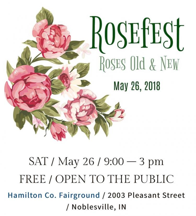 Indianapolis Rose Society ROSE FEST at Hamilton County Fairgrounds