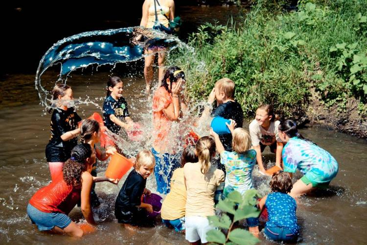 Summer Nature Programs: Creek Stomp at Cool Creek Nature Center